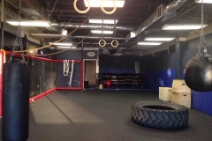 The Brian's Gym Fix Box and Group Training A Room